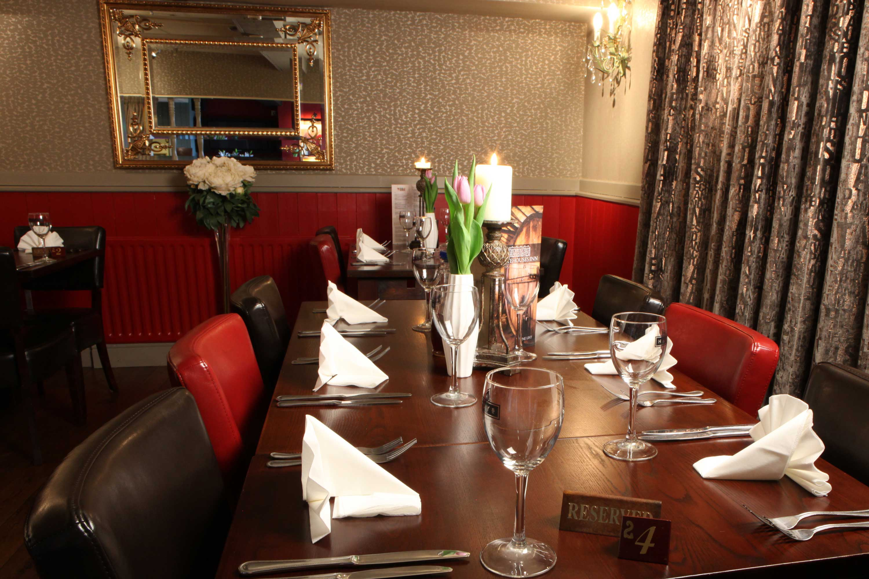 Celebrate at Whitehouses Inn Retford, we can cater for any party, function, event