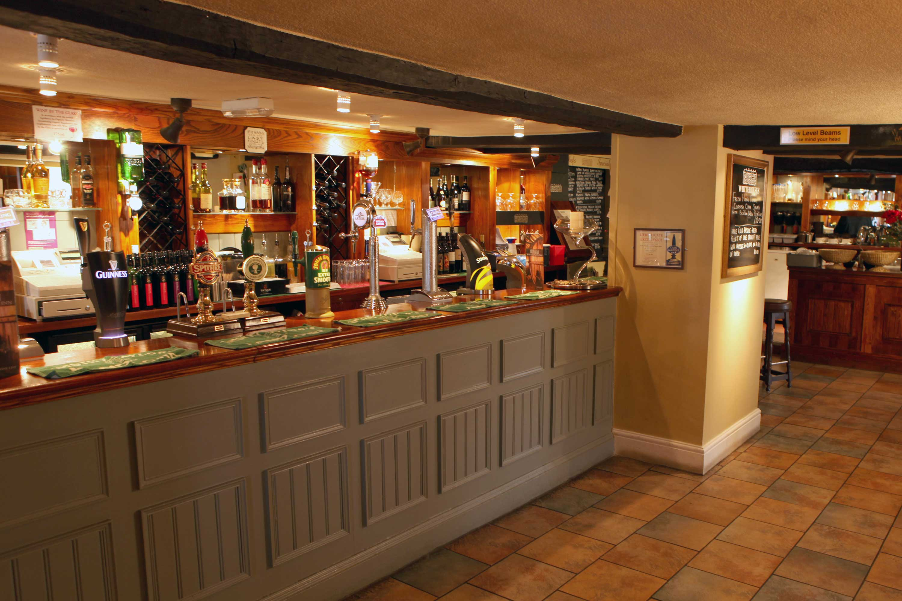 Traditional ales at Whitehouses Inn in Retford, Notts